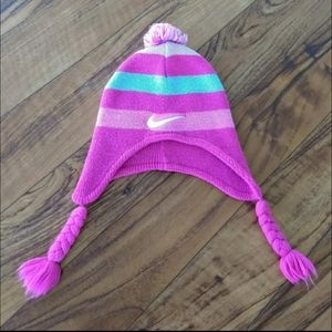 Nike beanie hat with ear covers